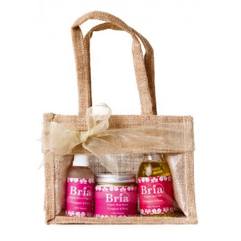 Frangipani & Rose Bath Oil, Body Butter & Room Fragrance Gift Pack