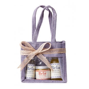 Jute Gift Bag & Ribbon